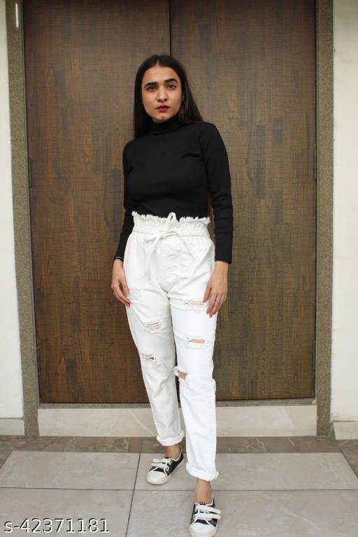 Trendy Elegant Women Women Trousers