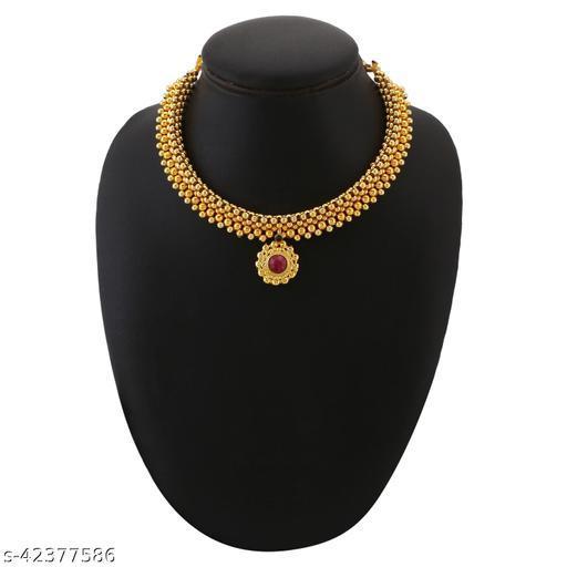 Traditional Gold Plated Latest Stylish Designer Adjustable Thushi