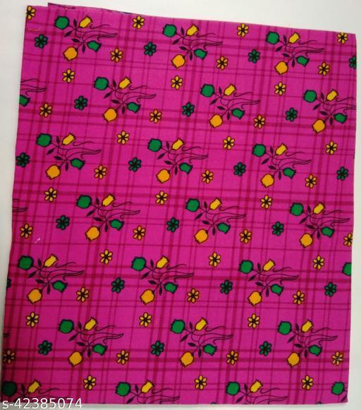 Kalamkari Blouse unstitched Cotton 1 Meter multicolor (50)