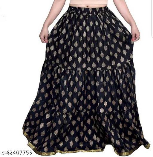 Jivika Pretty Women Ethnic Skirts