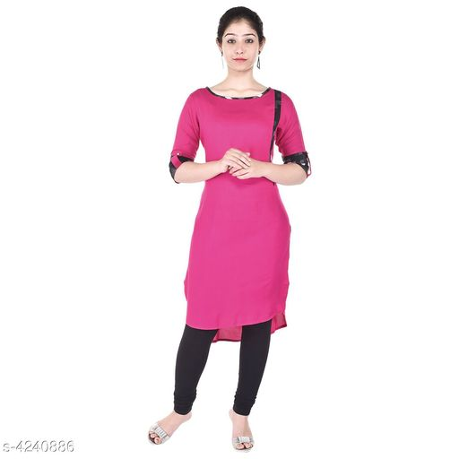 Kurtis & Kurtas Pretty Embroidered Women's Kurti  *Fabric* Viscose  *Sleeve Length* Three-Quarter Sleeves  *Work* Embroidered  *Combo of* Single  *Sizes* Sizes  *Length* Up To 46 in  *Sizes Available* M, L, XL, XXL   Supplier Rating: ★3.8 (210) SKU: AFK5232P  Shipping charges: Rs49 (Non-refundable) Pkt. Weight Range: 300  Catalog Name: Myra Pretty Embroidered Women's Kurtis Vol 2 - Aprique FAB Code: 992-4240886--