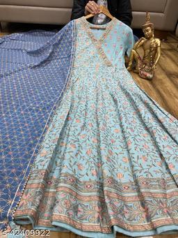 Women's Cotton Kurta with Dupatta