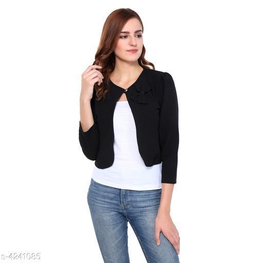 Stylish Polyester Lycra Women Shrug