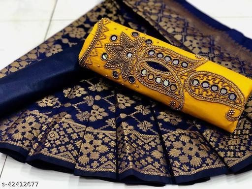 KT's Ladies FashionWear Presents Dress Material