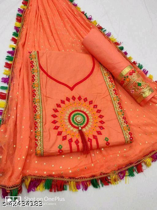 AP Simple Cotton Suit & Dress Material
