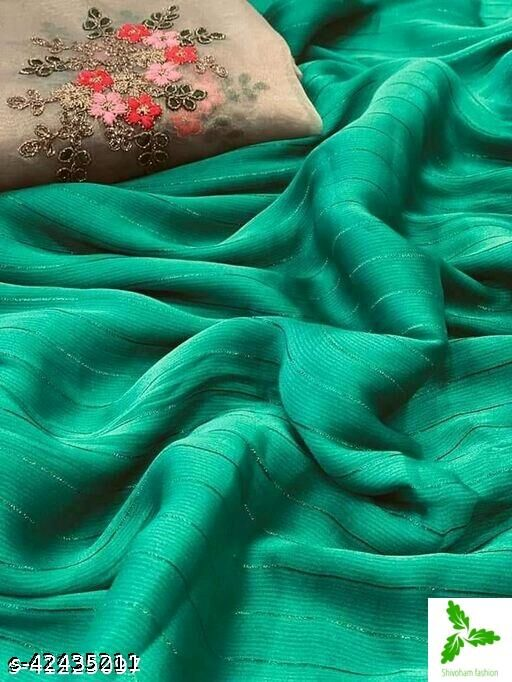 Fancy party and wedding wear saree and summer collection