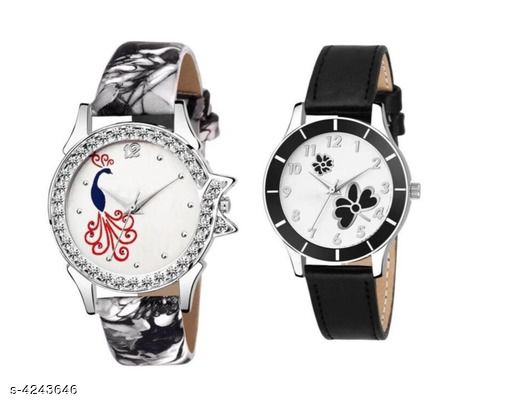 Attractive Women Synthetic Leather Watches