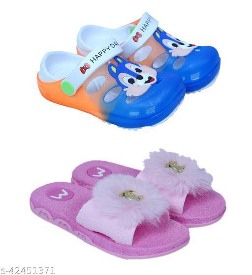 Krenya Kids Sandal and flipflop Combo