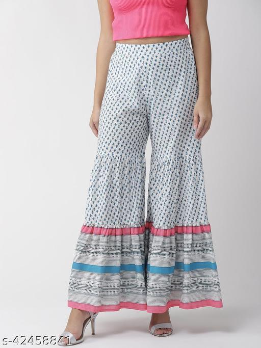 Rangmayee Women's Cotton Sharara