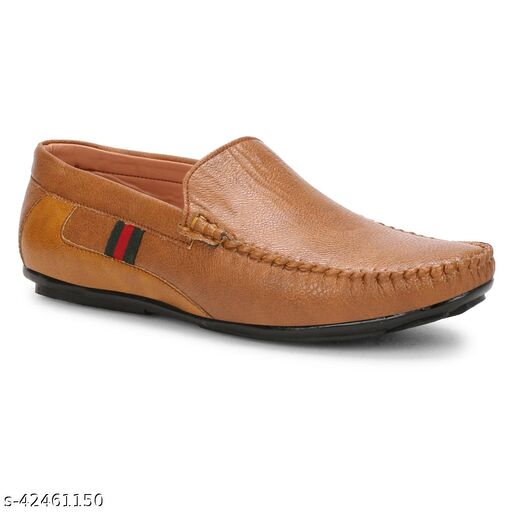 X BYE Smash-Z Loafers For Men(Tan)
