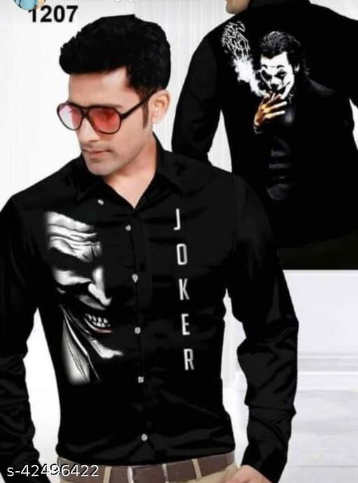 Trendy Digital Print Shirt Fabric