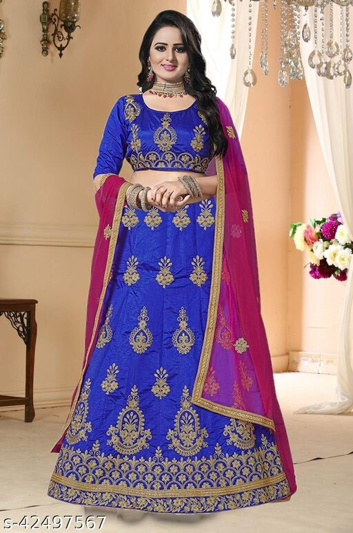 Designer Embroidery Lehenga Choli