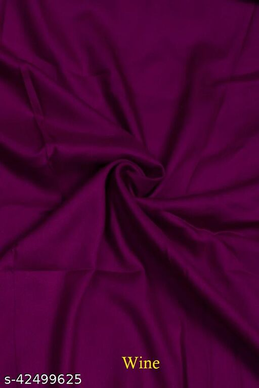 Rayon plain fabric for kurtis and gowns