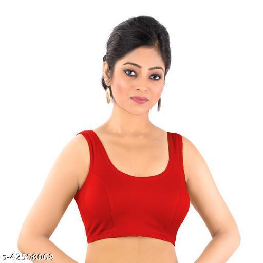 Abhi Women's Readymade Sleeveless Blouse.