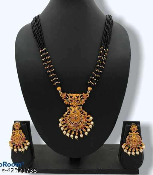 Allure Fusion Mangalsutras Jewellery Set