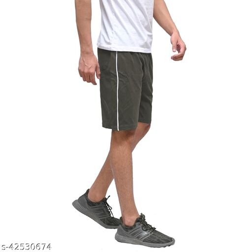 URY Stylish Cotton Shorts For Men