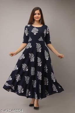 Comfy Modern Women Gowns