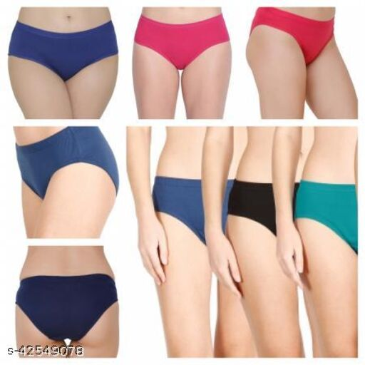 Women Hipster Multicolor Cotton Panty (Pack of 4)