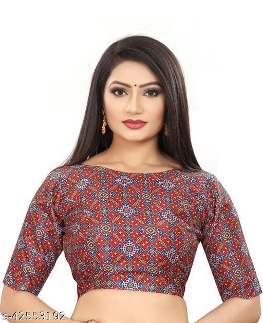 Beautiful Printed Blouse For Women