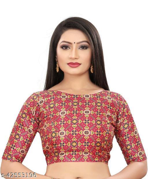 Elegant Printed Blouse For Women