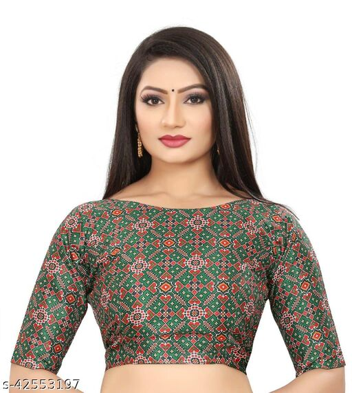 Stylish Printed Blouse For Women