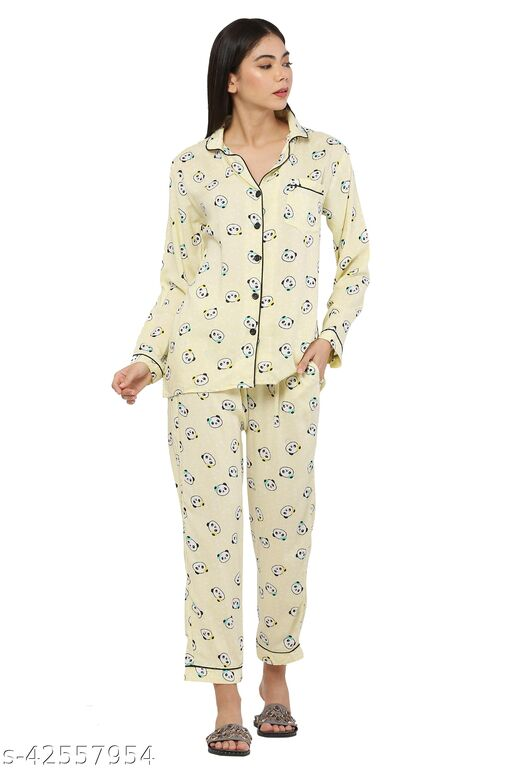Trendy Adorable Women Nightsuits