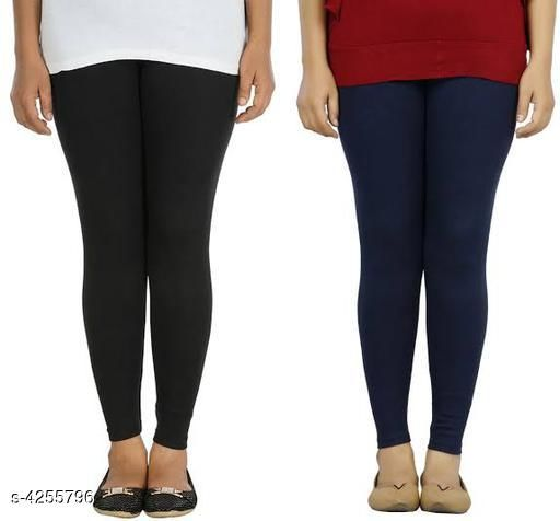 Leggings Stylish Cotton Lycra Women's Leggings  *Fabric* Cotton Lycra  *Size* 28 in , 30 in, 32 in, 34 in 36 in, 38 in, 40 in,  *Length* Up To 42 in  *Type* Stitched  *Description* It Has 2 Pieces Of Women's Legging  *Pattern* Solid  *Sizes Available* 28, 30, 32, 34, 36, 38, 40 *    Catalog Name: Trendy Stylish Cotton Lycra Women's Leggings Vol 19 CatalogID_609177 Code: 973-4255796-
