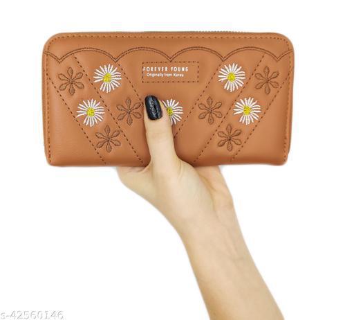 Women Wallet Clutch Purse hand held Wallets for Girls Latest Stylish Treding Wallets  zipper wallets leather credit card holder