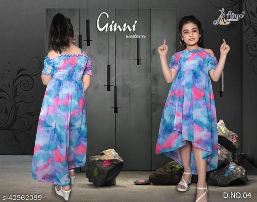 Tinkle Elegant Girls Frocks & dresses