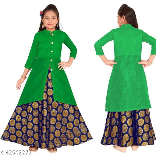 Comfy Girls Ethnic Gowns