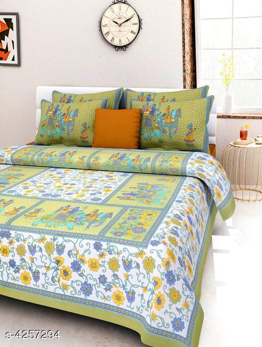 Eva Stylish Cotton Bedsheets
