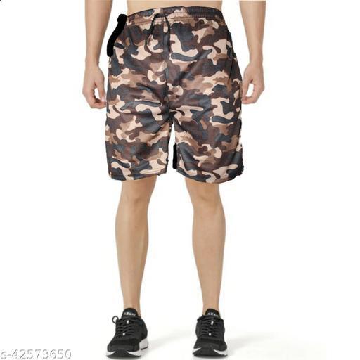 Casual Glamarous Men Shorts