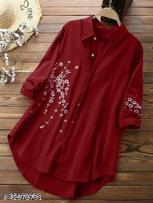 Stylish Embroidery Women Shirt