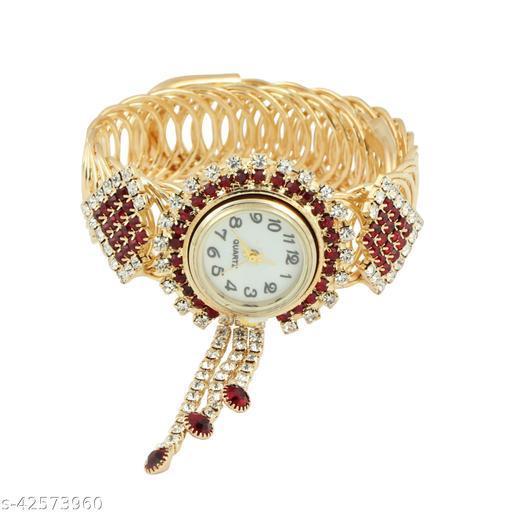 Stylish Designer Bracelet Type Rakhi With Watch