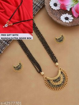 ELITE TWINKLING MANGALSUTRA WITH FREE GIFT