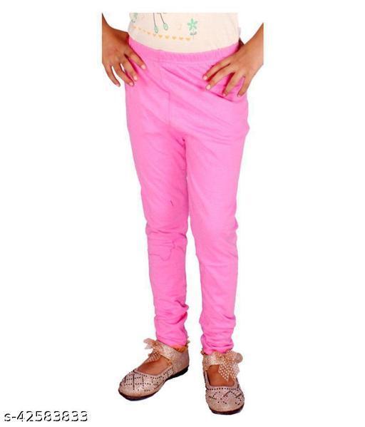 KriSo Cotton Lycra Legging Pink Colour