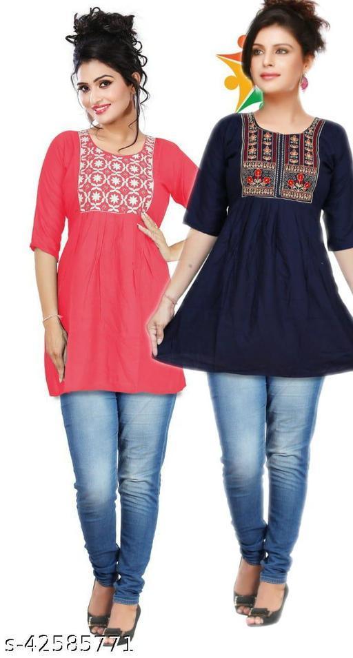 Stylish Partywear Women Tops & Tunics