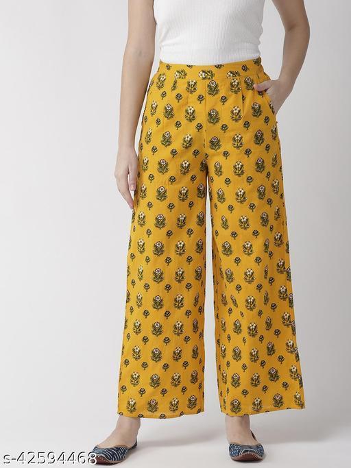 Rangmayee Women's Cotton Printed Pant