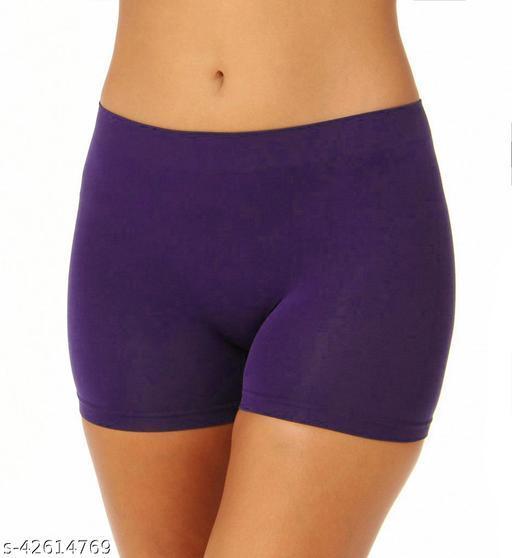 Women Hipster Lavendar Cotton Panty