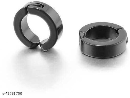 Samm & Moody Non-Piercing Stainless Steel Stud For Boys and Girls