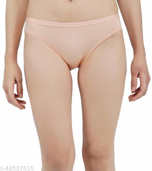 Women Hipster Cream Cotton Panty