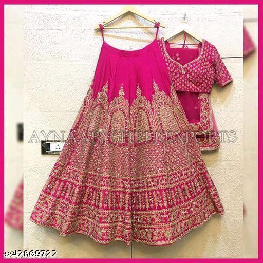 Sidhhnath  New Designer Lehenga Choli  Pink 005
