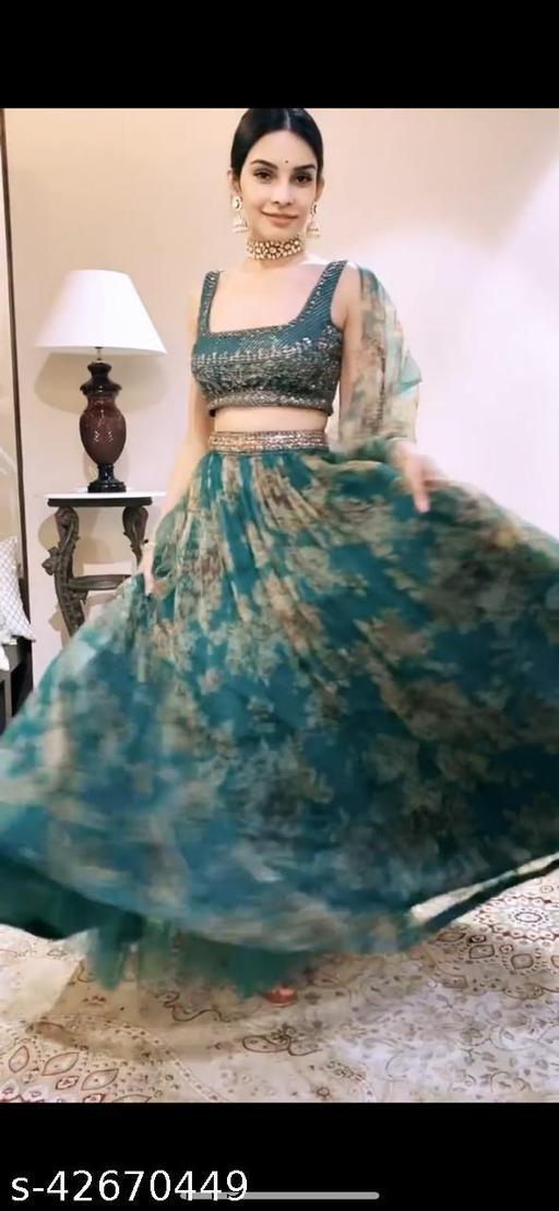 Meet  New Stylish Designer Lehenga Choli Beign Color