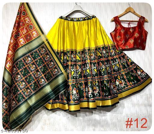 pooja printed lehenga for navratri and festivel for women