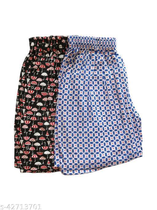 Women's Comfortable Printed Shorts Combo N09