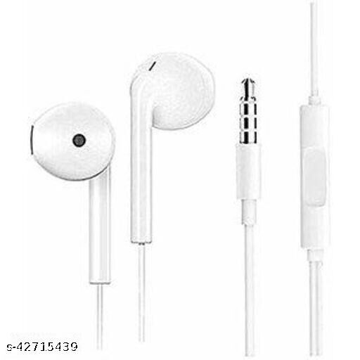 Real for me in ear wired earphone with silicon earbuds with extra base for all smartphones