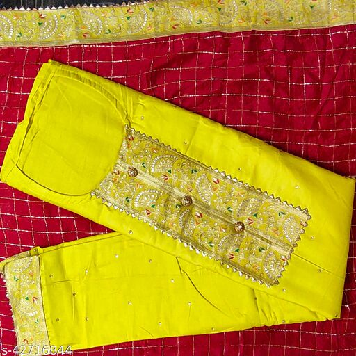 Beautiful Jam Cotton Suit With Classy Work(PARTY WEAR COLLECTION)