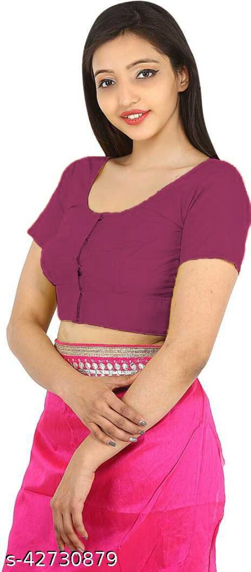 Namita Women's Collection of Round Neck Readymade Pure Cotton Blouse