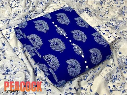 Trendy Silk Cotton Suit