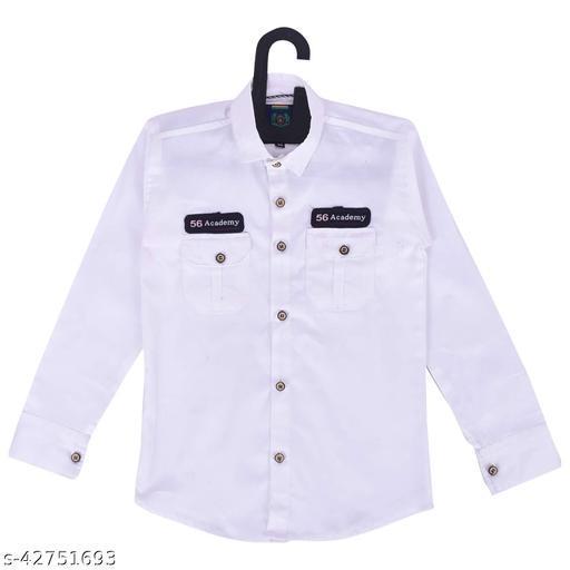 Red Fogg Boys Full Sleeve Cotton Shirt